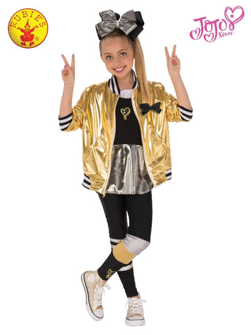 Jojo Siwa Gold Dance Costume - Salsa and Gigi Australia 640555 01