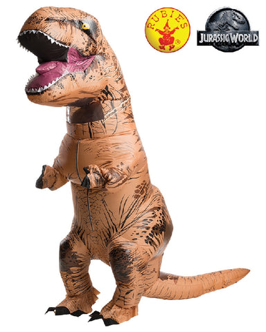 T-REX Jurassic World Inflatable Adult Costume - Salsa and Gigi Australia