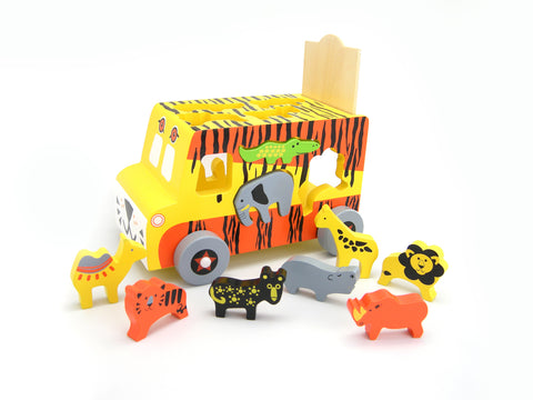 Safari Bus Playset - Salsa and Gigi Online Store