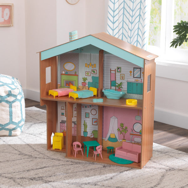 Kidkraft Designed by me colour decor girls dollhouse - Salsa and Gigi Australia