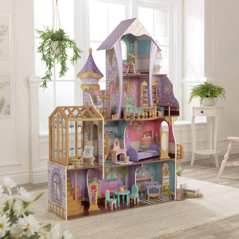 KidKraft Enchanted Greenhouse Castle Dollhouse - Salsa and Gigi Australia