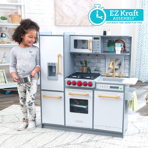 KidKraft Uptown Elite White Kids Play Kitchen - Salsa and Gigi Australia