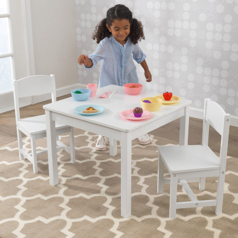 Aspen Table & 2 Chairs - White - Salsa and Gigi