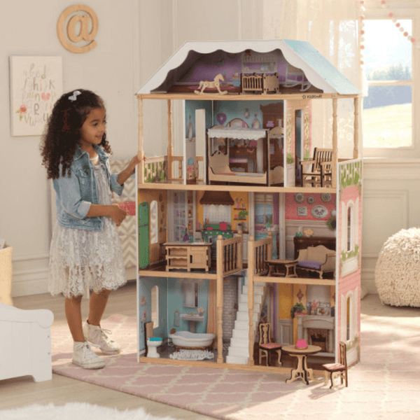 KidKraft Charlotte Dollhouse Mansion 65956 - Salsa and Gigi Australia