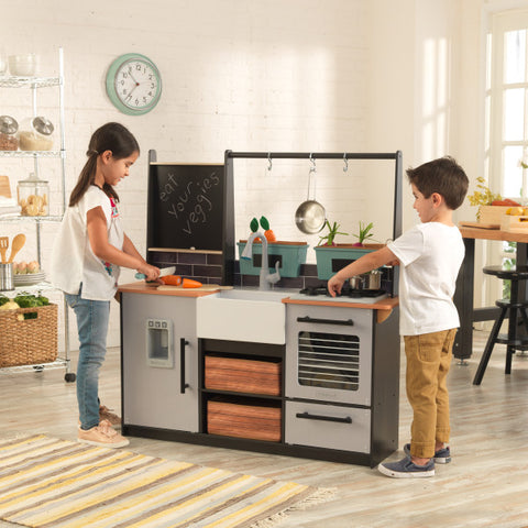 KidKraft Farm to Table Play Kitchen with EZ Kraft Assembly™ - Salsa and Gigi Australia 01