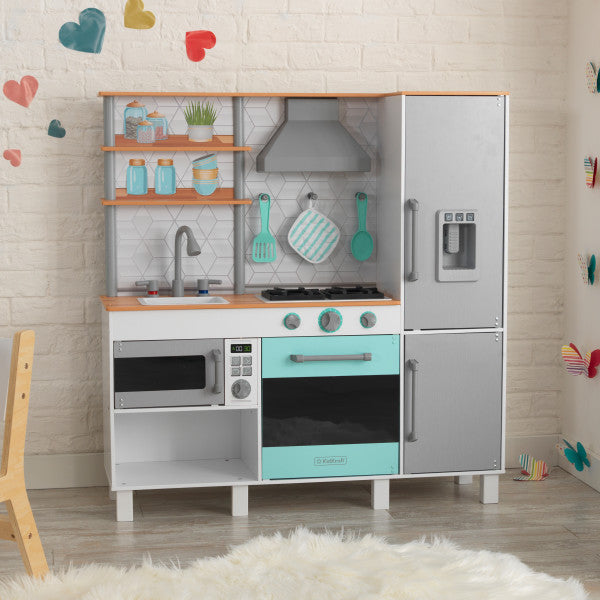 KidKraft Gourmet Chef Play Kitchen with EZ Kraft Assembly™ 53421 - Salsa and Gigi Australia