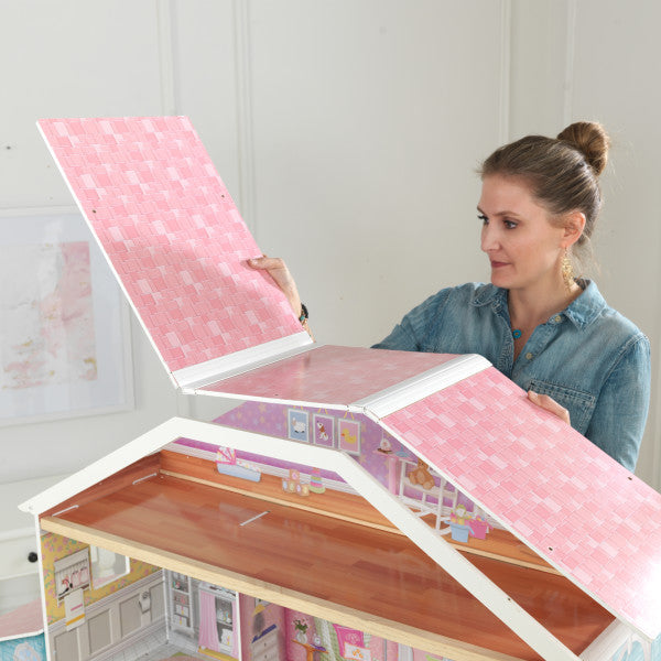 KidKraft Grand View Mansion Dollhouse with EZ Kraft Assembly™ - Salsa and Gigi Australia