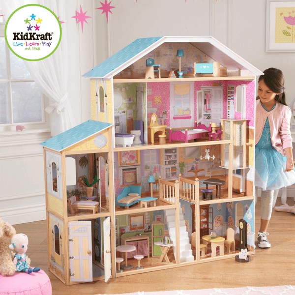Majestic Mansion Dollhouse - Salsa and Gigi