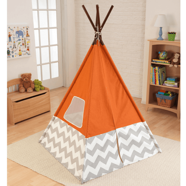 KidKraft Play Teepee Orange - Salsa and Gigi Online Store