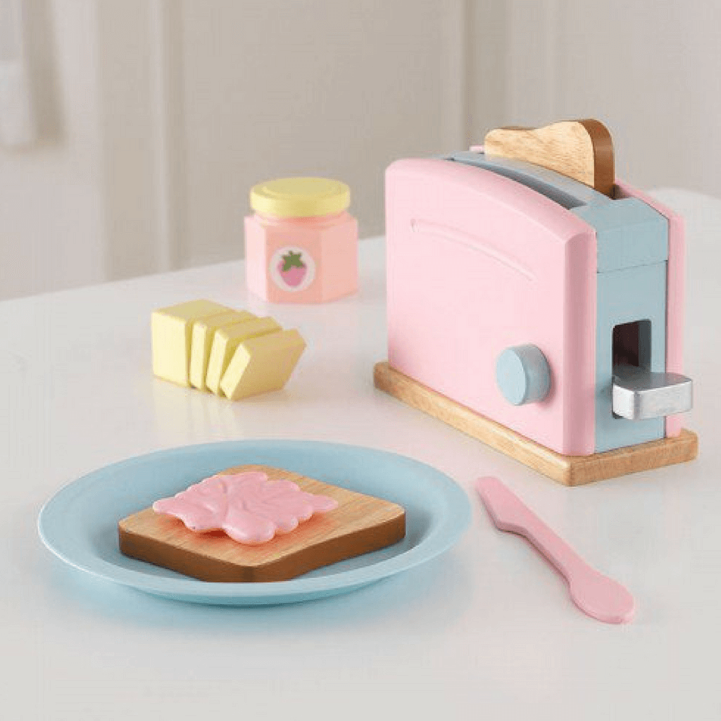 Pastel Toaster Set - Salsa and Gigi