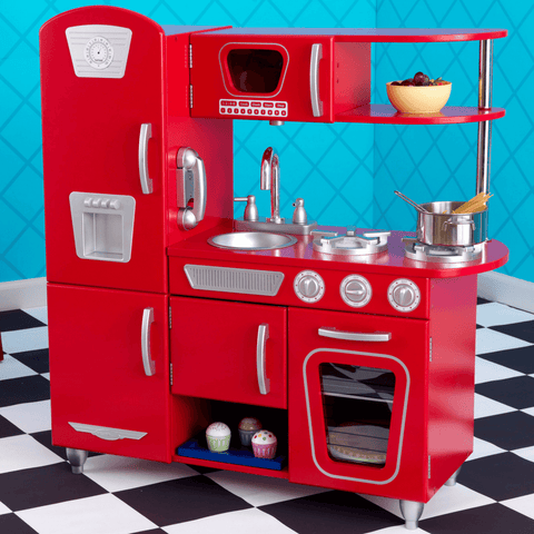 KidKraft Red Vintage Kitchen - Salsa and Gigi Online Store