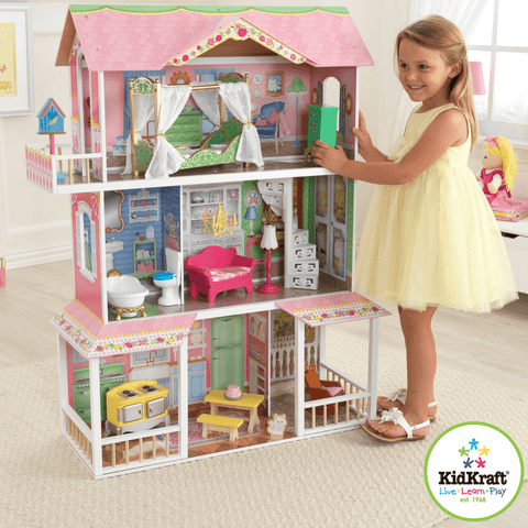 KidKraft Sweet Savannah Dollhouse for Girls - Salsa and Gigi Online Store