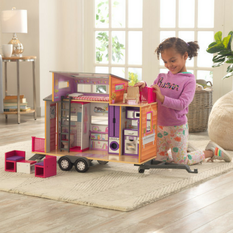 KidKraft Teeny House Transportable Dollhouse - Salsa and Gigi Australia