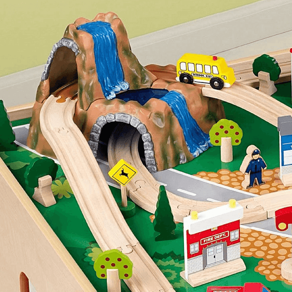 KidKraft Waterfall Mountain Train Set - Salsa and Gigi Online Store