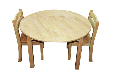Large Round Table with 2 Stacking Chairs - Salsa and Gigi Australia 01