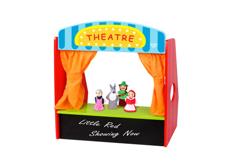 Wooden Theatre Little Red Riding Hood Show - Salsa and Gigi Australia TKC434 01