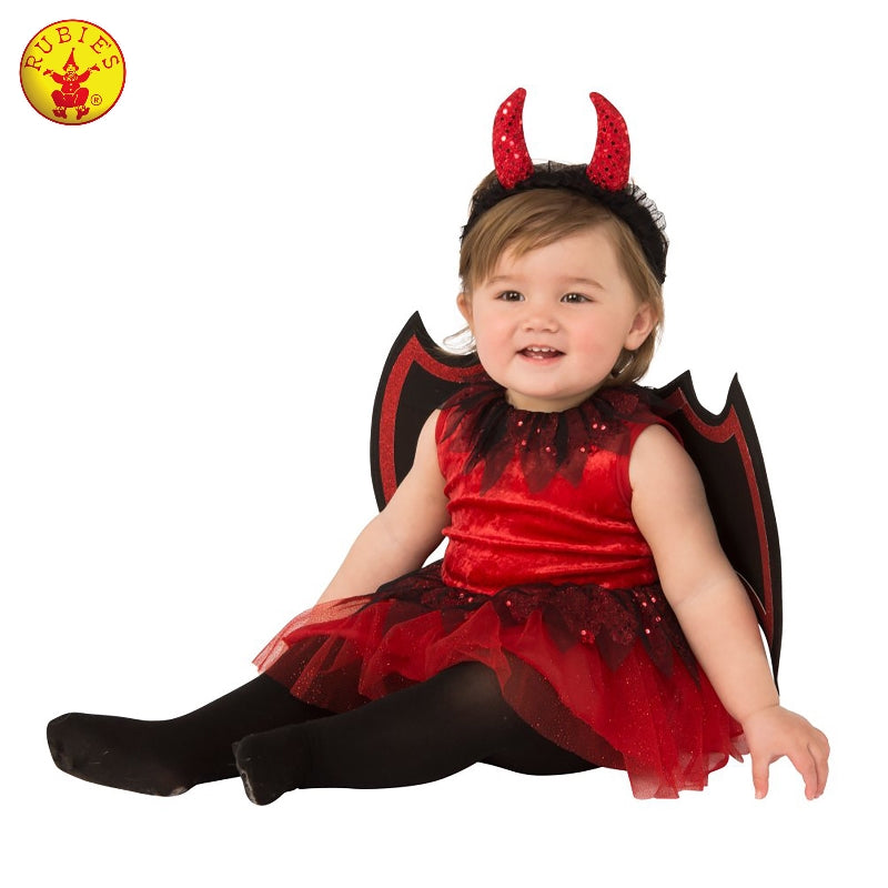 Little Devil Toddler Girls Halloween Costume - Salsa and Gigi Australia 700916 01