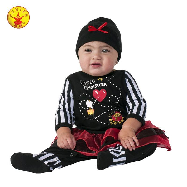 Little Treasure Pirate Costume Baby 0-6 months