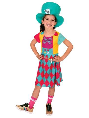 Disney Mad Hatter Girls Costume - Salsa and Gigi Australia 7170 01