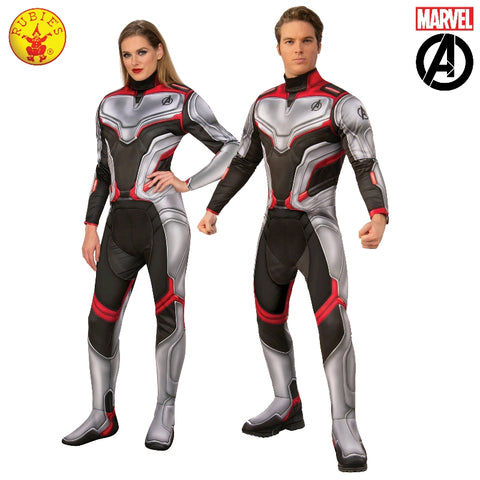 Marvel Avengers 4 Endgame Deluxe Team Suit Unisex Adult Costume - Salsa and Gigi Australia 700740 01