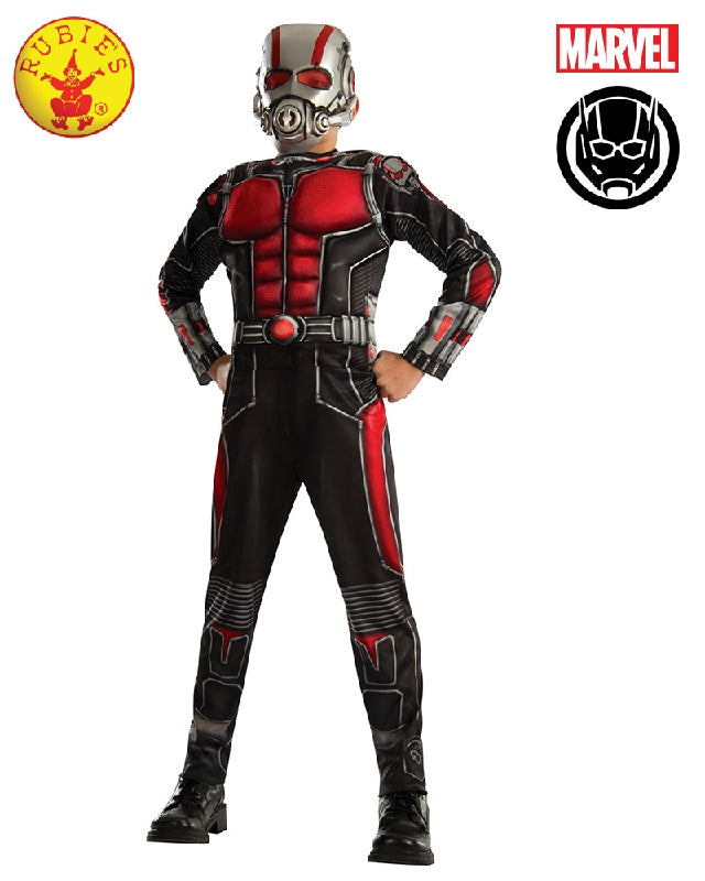 AVENGERS Ant Man Deluxe Muscle Chest Boys Costume - Salsa and Gigi