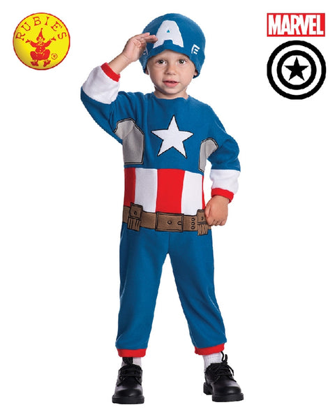 AVENGERS Captain America Boys Toddler Costume - Salsa and Gigi