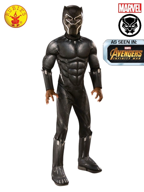 Marvel Avengers ENDGAME Black Panther Deluxe Child Costume - Salsa and Gigi Australia 700682