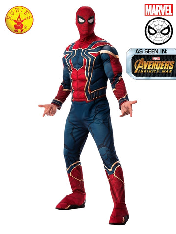 Marvel Avengers Endgame Iron Spider Deluxe Adult Men's Costume - Salsa and Gigi Australia 700745