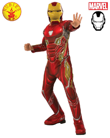 AVENGERS Iron Man Infinity War Deluxe Boys Costume - Salsa and Gigi