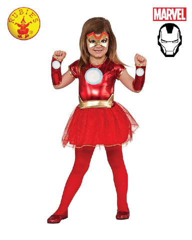 AVENGERS Iron Rescue Girls Dress Girls Costume - Salsa and Gigi