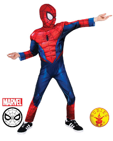 AVENGERS Spider-Man Deluxe Boys Costume - Salsa and Gigi