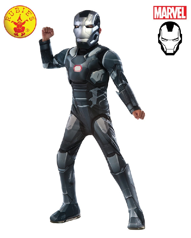AVENGERS War Machine Civil War Deluxe Boys Costume - Salsa and Gigi