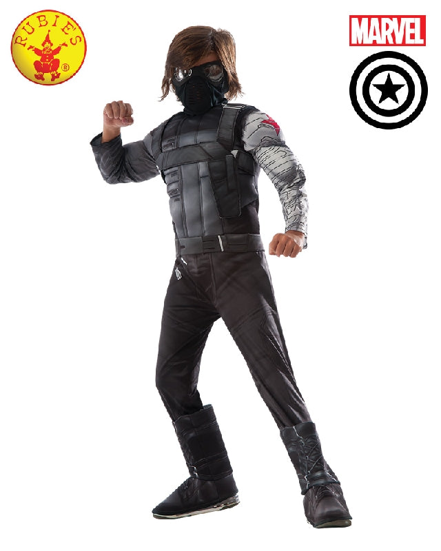 AVENGERS Winter Soldier Civil War Deluxe Boys Costume - Salsa and Gigi