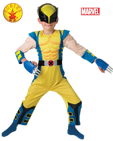 Marvel Wolverine Deluxe Boys Costume - Salsa and Gigi Australia 886588