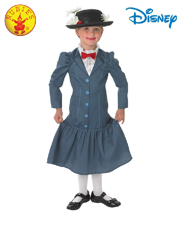 Mary Poppins Deluxe Girls Costume - Child - Salsa and Gigi
