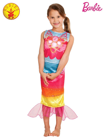 Mattel Barbie Mermaid Girls Costume - Salsa and Gigi Australia 3951 01