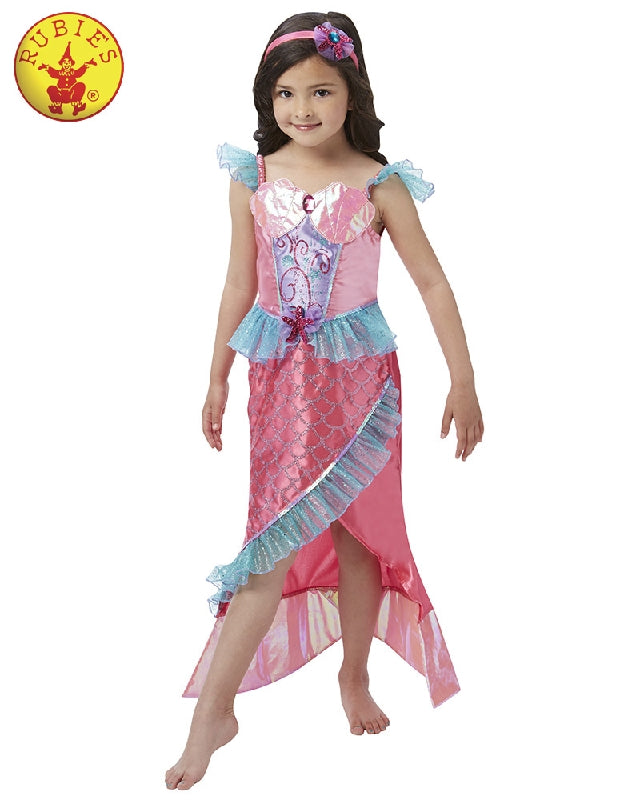 Mermaid Deluxe Princess Girls Costume - Salsa and Gigi