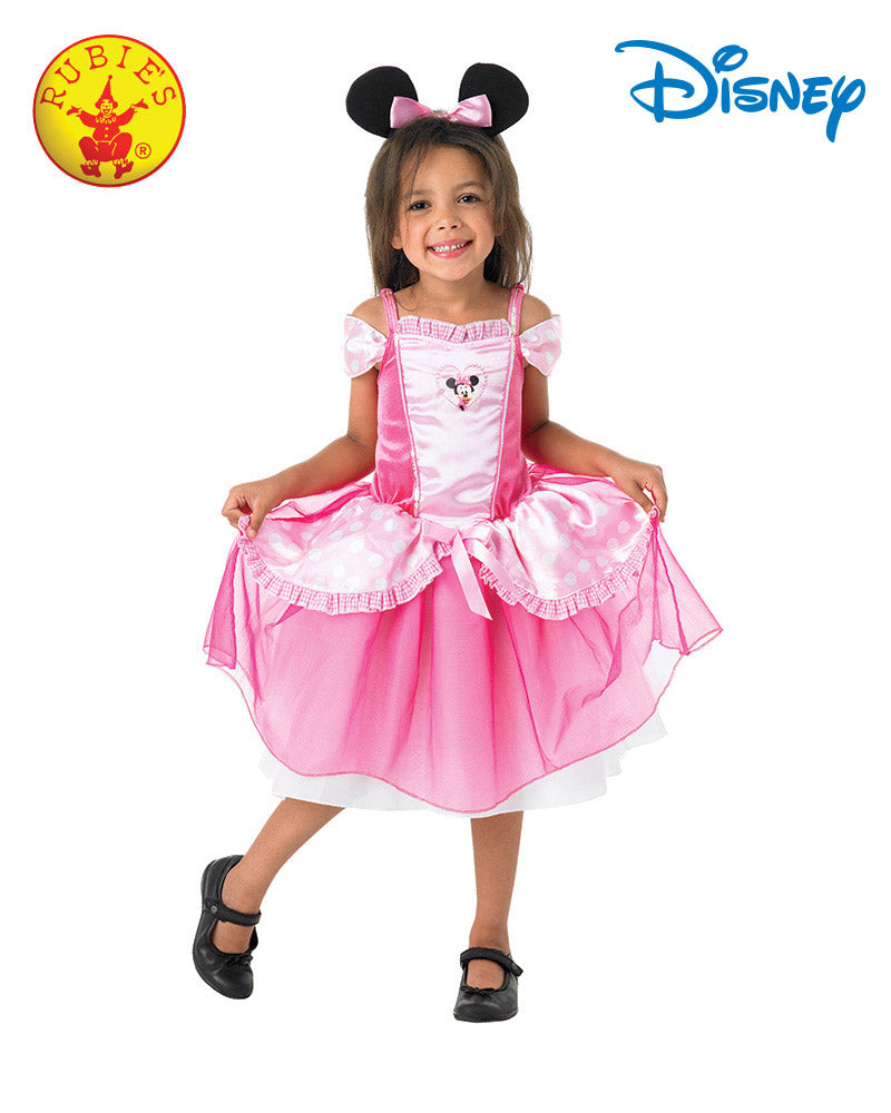 Disney Minnie Mouse Pink Ballerina Girls Costume - Medium - Salsa and Gigi