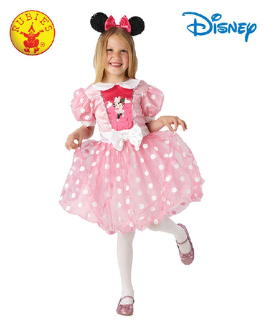Disney Minnie Mouse Pink Glitz Girls Costume - Medium - Salsa and Gigi