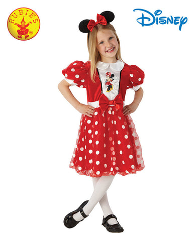 Disney Minnie Mouse Red Glitz Girls Costume - Small & Medium - Salsa and Gigi