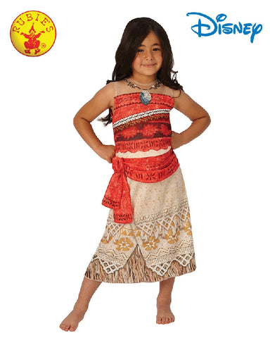 Disney MOANA Classic Princess Girls Costume - Size M, L - Salsa and Gigi