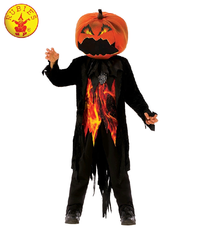 COMING SOON... Mr Pumpkin Child Halloween Costume - Size L - Salsa and Gigi