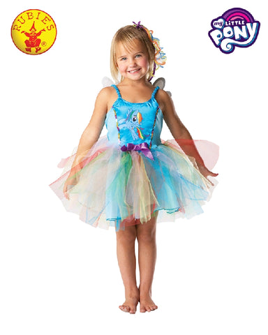 My Little Pony Rainbow Dash Deluxe Girls Costume - Salsa and Gigi