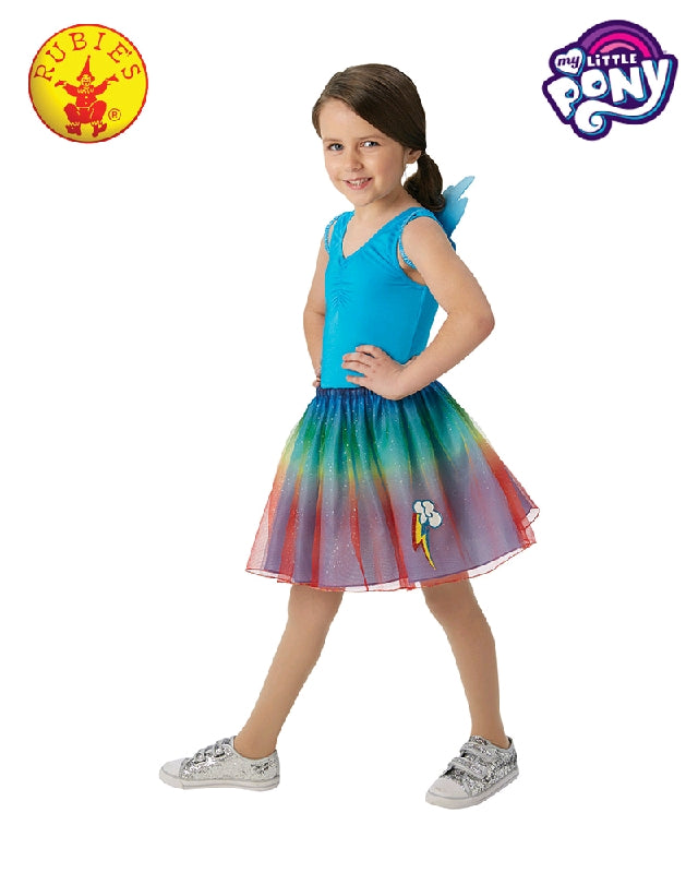 My Little Pony Rainbow Dash Wings and Tutu Costume Set - Salsa and Gigi