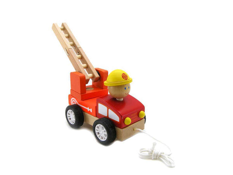 Pull Along Fire Engine - Salsa and Gigi Online Store