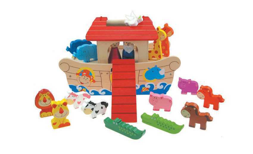 Noah's Ark Playset - Salsa and Gigi