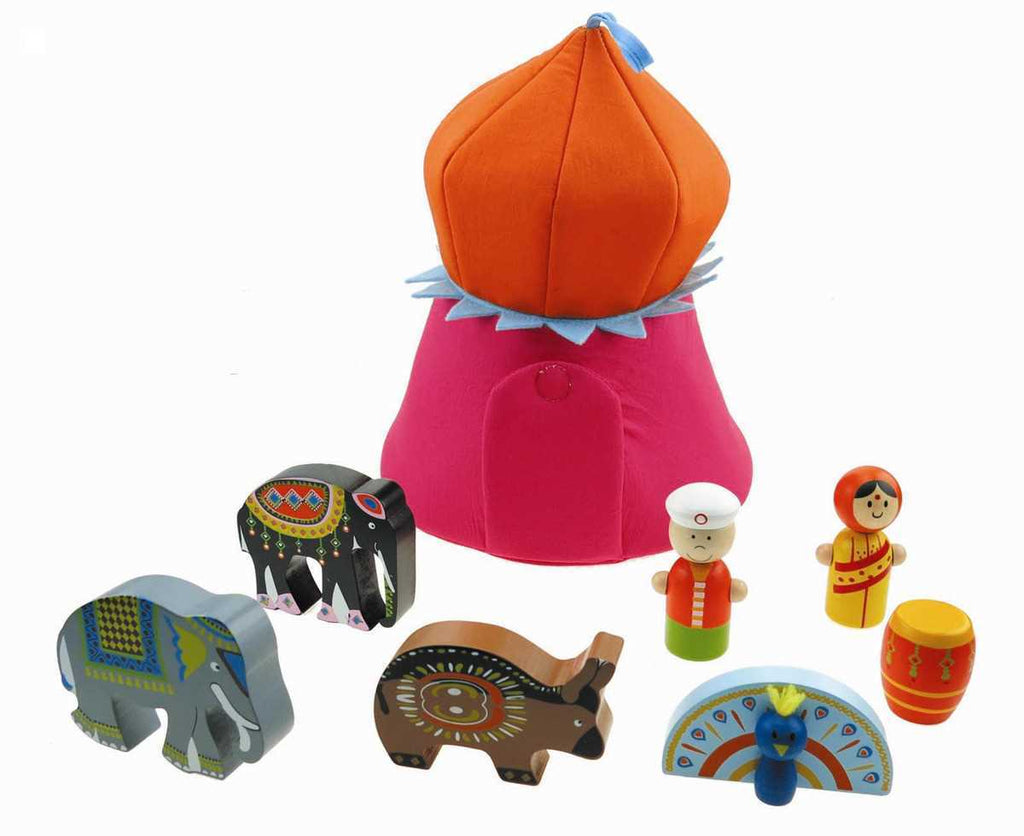 Indian Playset - Salsa and Gigi