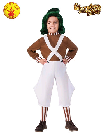 Oompa Loompa Classic Child Costume - Salsa and Gigi Australia 620934 01