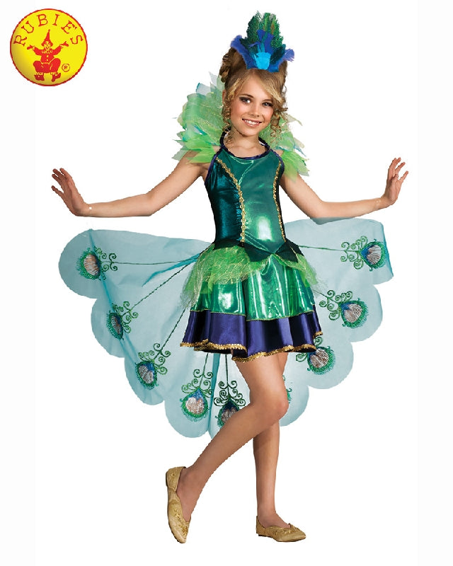 Peacock Girls Costume - Salsa and Gigi Australia 887098