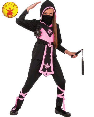 Pink Ninja Crystal Girls Costume - Salsa and Gigi Australia
